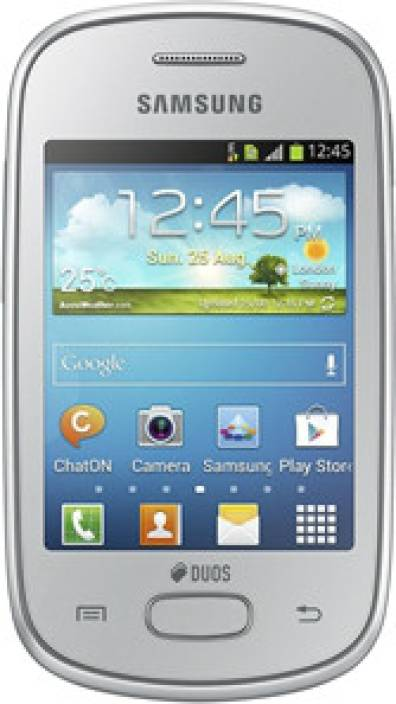 Samsung Galaxy Star (Silver, 4 GB)