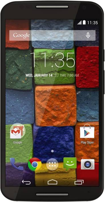 Moto X (2nd Generation) (Black, 16 GB)