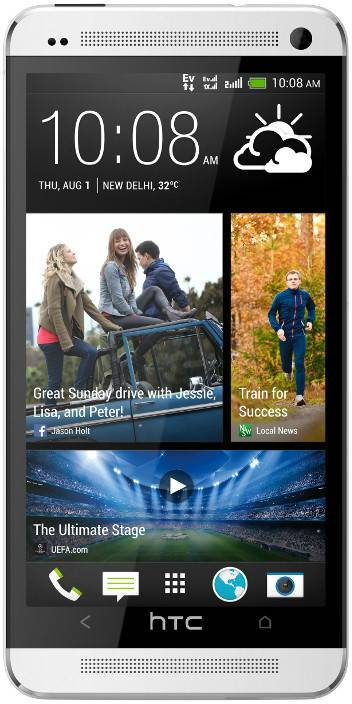 HTC One 802d (Silver, 32 GB)