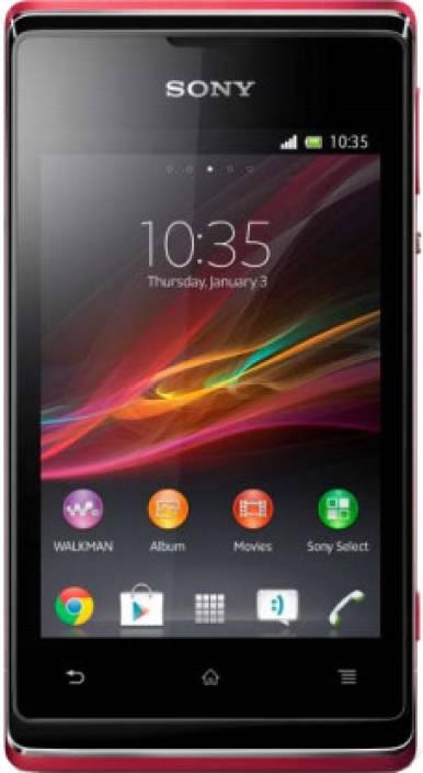 Sony Xperia E (Pink, 4 GB)