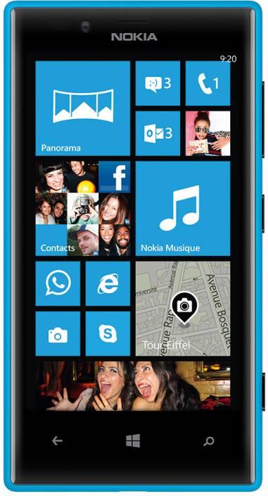 Nokia Lumia 720 (Cyan, 8 GB)