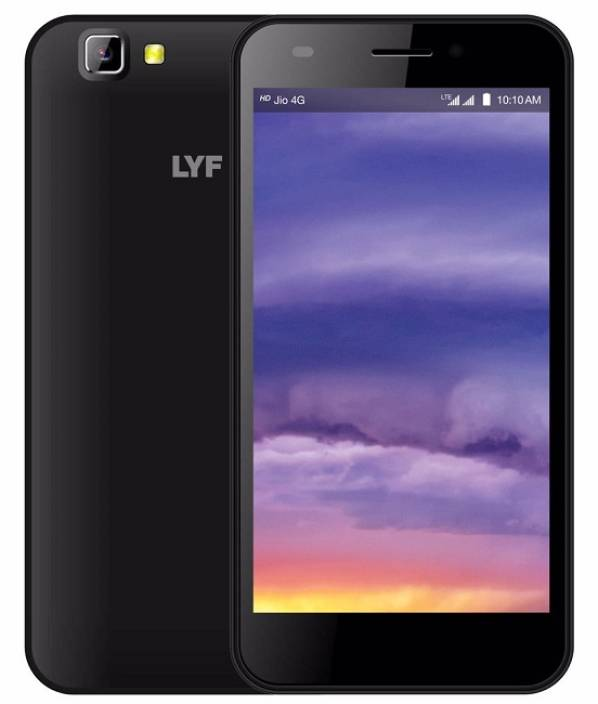LYF Wind 5 (Black, 8 GB)