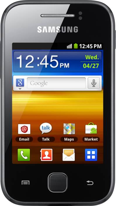 Samsung Galaxy Y (Absolute Black, 180 MB)