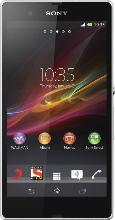 Sony Xperia Z (White, 16 GB)