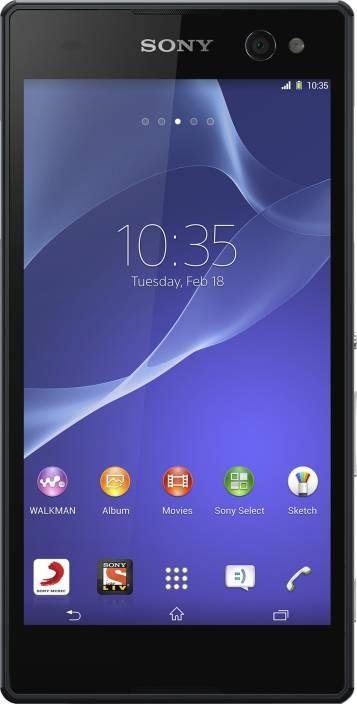 Sony Xperia C3 (Starry Black, 8 GB)