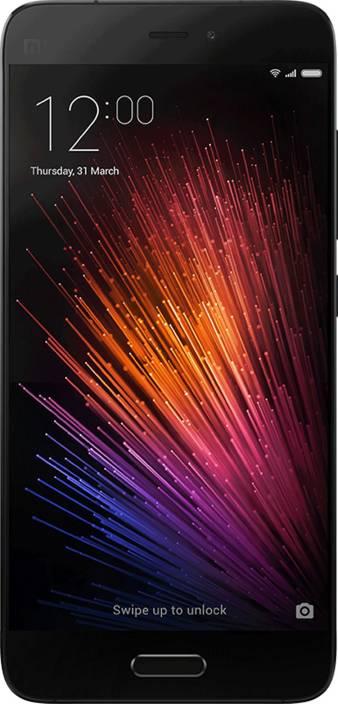 Mi 5 (Black, 32 GB)