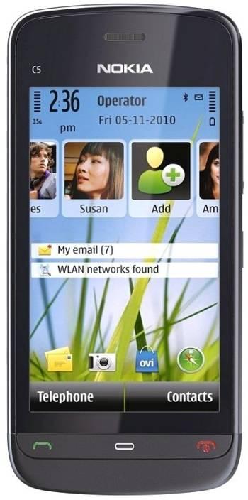 Nokia C5-03 (Grey, 40 MB)