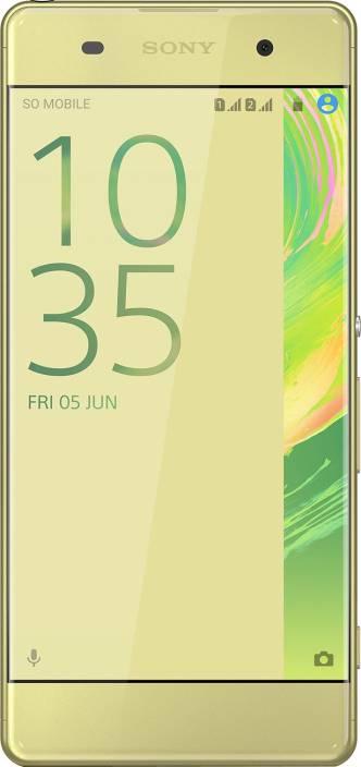 Sony Xperia XA Dual (Lime Gold, 16 GB)