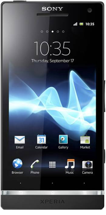 Sony Xperia S (Black, 32 GB)