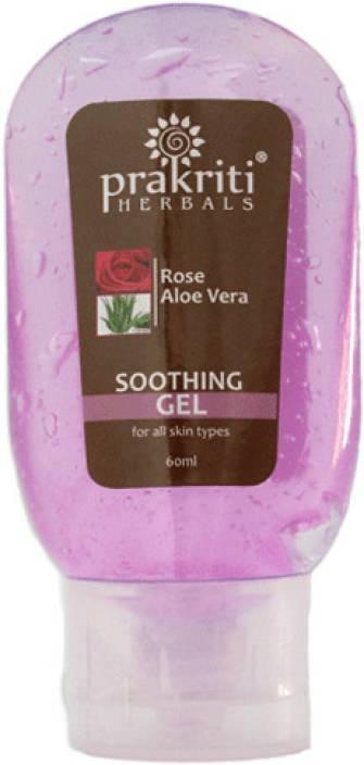 Prakriti Herbals Soothing Aloevera Rose Gel