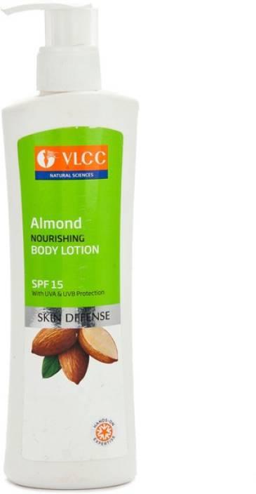 VLCC Almond Nourishing Body Lotion SPF 15,