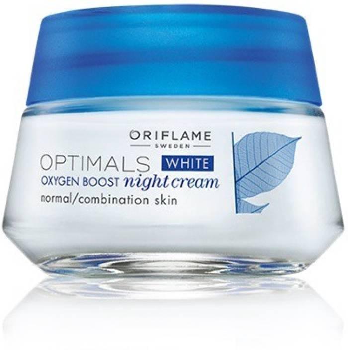 oriflame optimals white oxygen boost night cream price in india