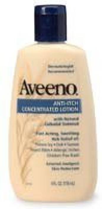 Aveeno Anti-Itch Concentrated Lotion, - Bottles (Pack of 3)