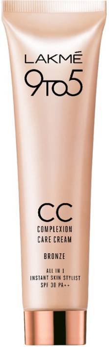 Lakme 9 to 5 Complexion Care Cream, Bronze