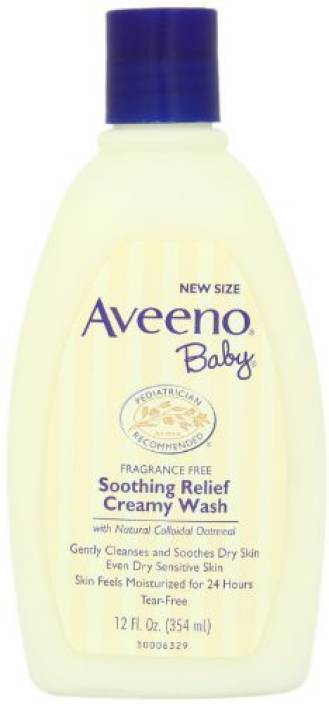 Aveeno Baby Soothing Relief Cream Wash