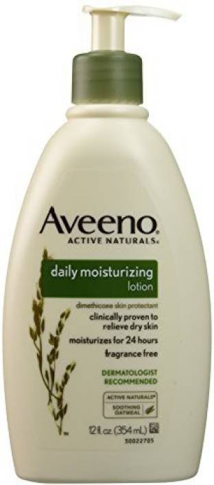 Aveeno Active Naturals Daily Moisturizing Lotion Pump, (Pack of 2)
