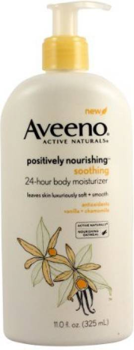 Aveeno Positively Nourishing Soothing Body Moisturizer