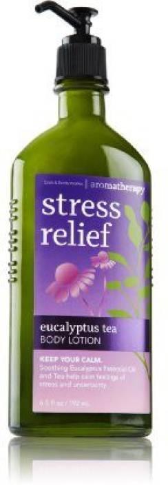 Bath Body Works Aromatherapy Stress Relief Eucalyptus Tea Body