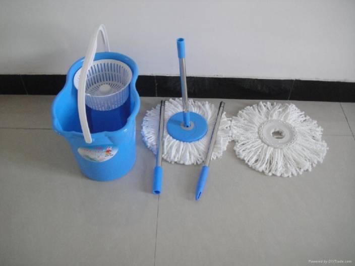 Jet clean 360 degree spin mop bucket Mop Set