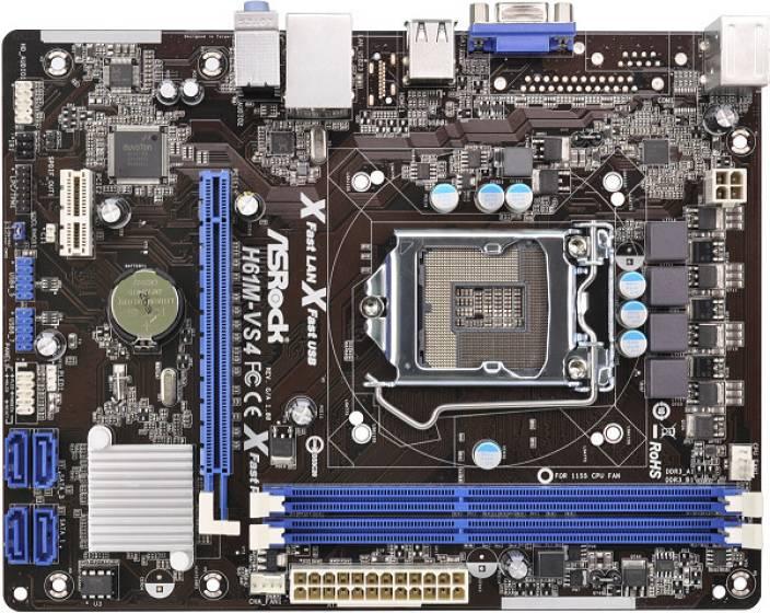 ASRock H61M-VS4 Motherboard