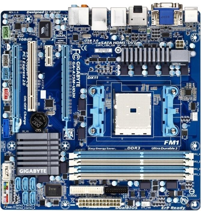 Gigabyte GA-A75M-UD2H Microsoft UAA Descargar Controlador