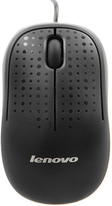 Lenovo M110 Optical Mouse Wired Optical Mouse