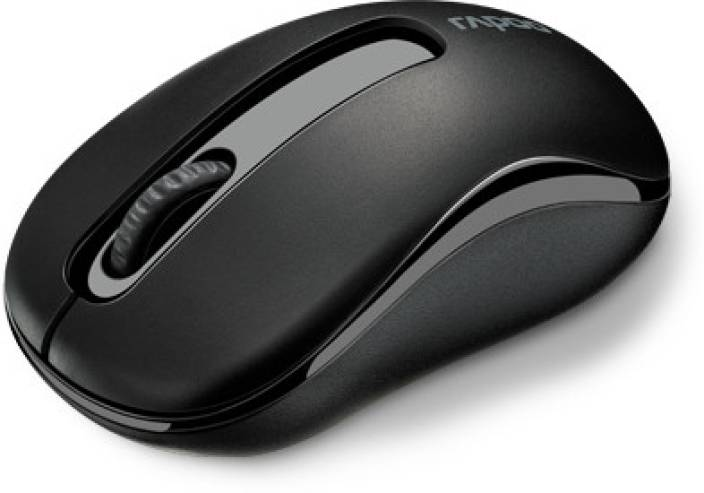 Rapoo M10 Black Wireless Optical Mouse