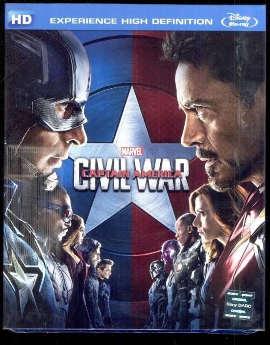 Captain America: Civil War - BD