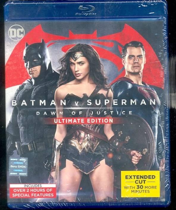c9bb18b68c2c Batman V Superman  Dawn of Justice - Ultimate Edition BD (Blu-ray English)