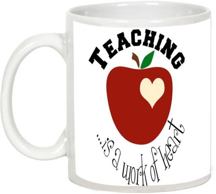 AllUPrints Teaching A Work Of Heart Ceramic Mug
