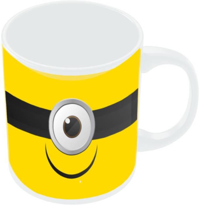 ek number minion despicable coffee ceramic mug price in india buy ek number minion despicable. Black Bedroom Furniture Sets. Home Design Ideas