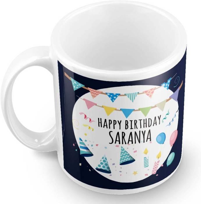 posterchacha saranya name happy birthday gift ceramic mug price in