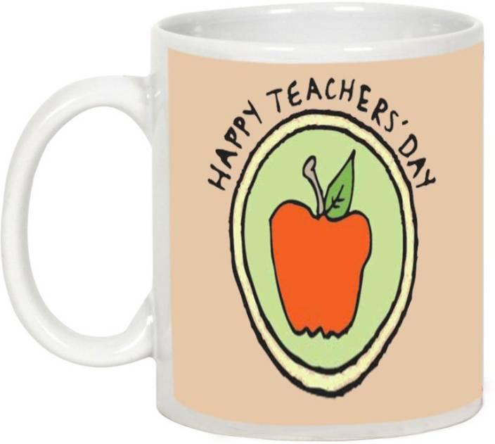 AllUPrints Angelic Teacher Ceramic Mug