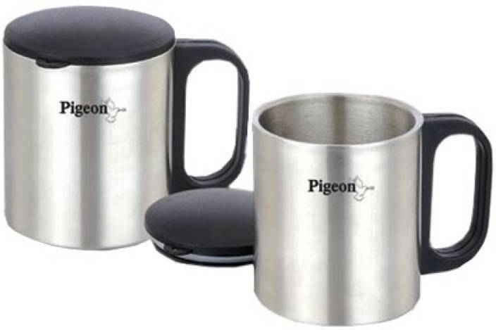 Pigeon Double Wall Stainless Steel Mug