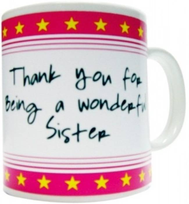 Everyday gifts best ever gift for sister ceramic mug price in everyday gifts best ever gift for sister ceramic mug negle Images