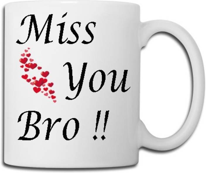 Meyou Miss U Brother Ceramic Mug Price In India Buy Meyou Miss U