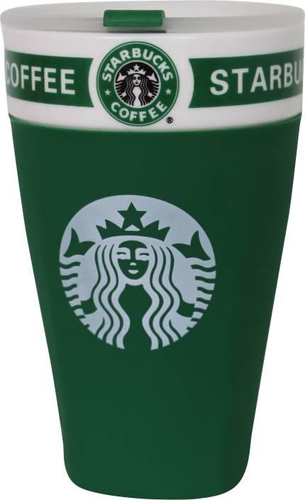 Urban Turban Starbucks Coffee With Lid Ceramic Mug
