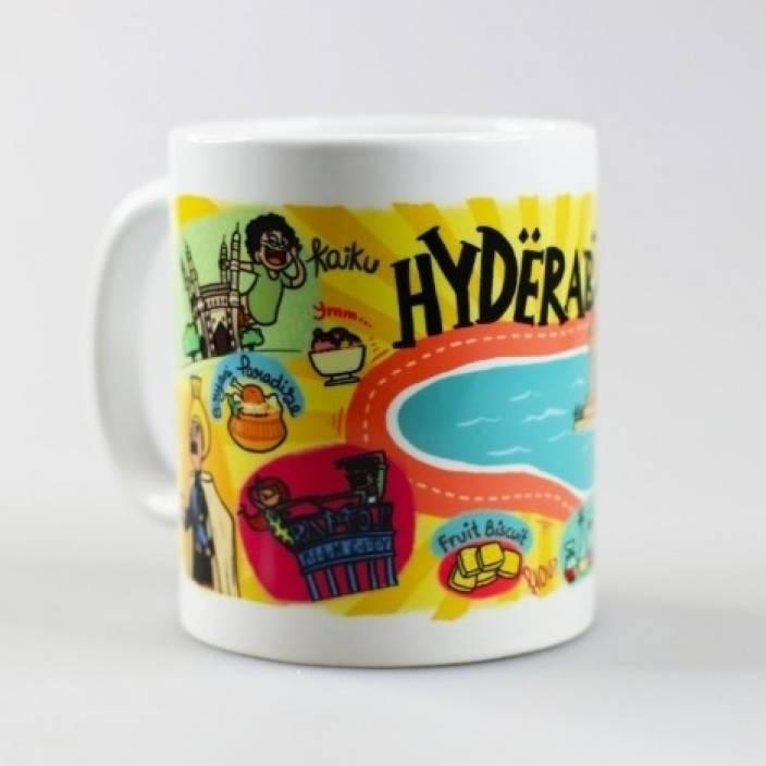 Hyderabad Hyderabad Ceramic Mug Ceramic Mug Chumbak Chumbak 2IWEH9YeD