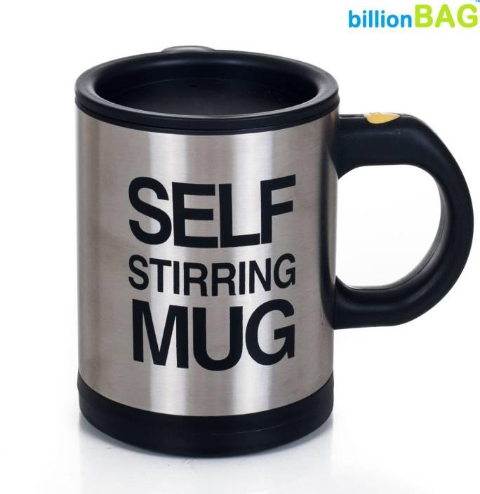 0a4c0be64ea Billionbag Self Stirring Tea Plastic, Stainless Steel Mug