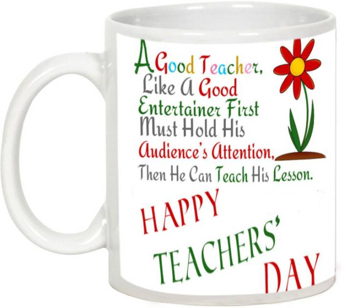 AllUPrints Teacher Teaches Lesson For Life Ceramic Mug