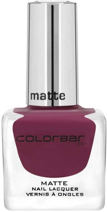 Colorbar Matte Nail Lacquer New Plumatte - Price in India, Buy ...