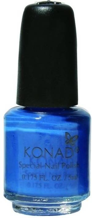 Konad Stamping Nail Art Polish Blue