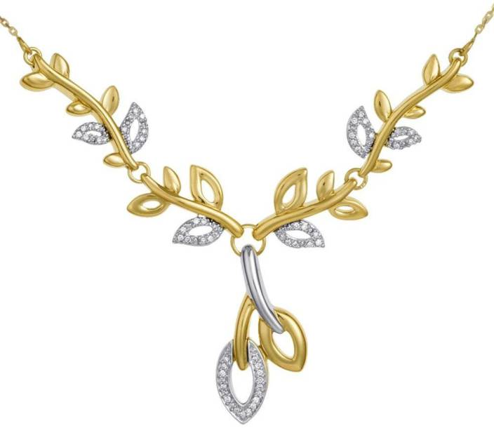 D'Damas Gold Necklace Price in India - Buy D'Damas Gold