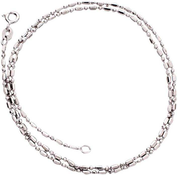 Silverwala Sterling Silver Chain Price in India - Buy Silverwala ...