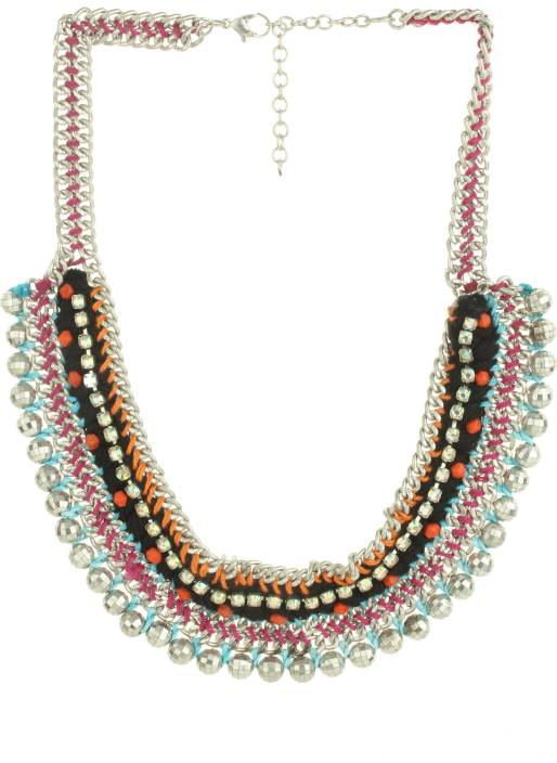 Mackinly Beads Metal Necklace