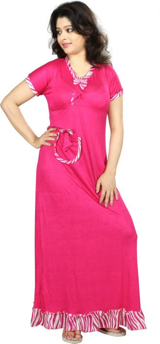 Touche Women s Nighty - Buy Pink Touche Women s Nighty Online at ... 70de33834