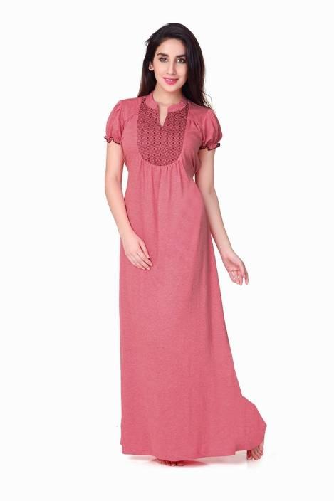 1a805539d6 Honeydew Women s Nighty - Buy FUSIA Honeydew Women s Nighty Online ...