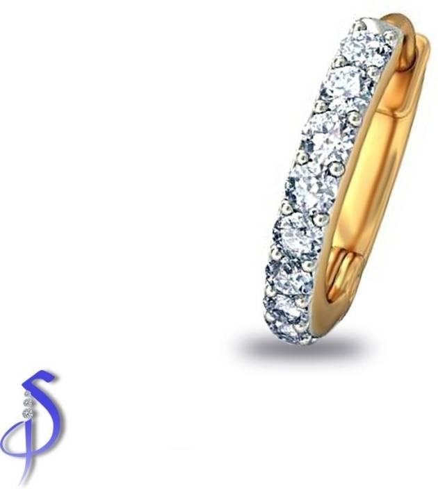 Shashvat Jewels Sania Mirza Fashion Diamond Gold Nose Ring Price In