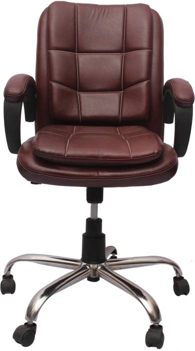 Vj interior leatherette office arm chair price in india