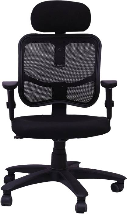 Woodstock India Fabric Office Arm Chair